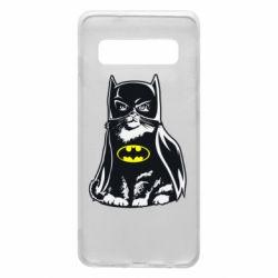 Чохол для Samsung S10 Cat Batman