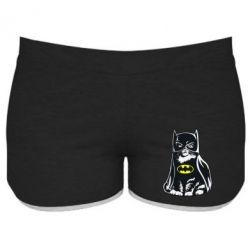 Женские шорты Cat Batman - FatLine