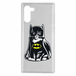 Чохол для Samsung Note 10 Cat Batman