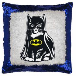 Подушка-хамелеон Cat Batman