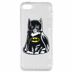 Чохол для iphone 5/5S/SE Cat Batman