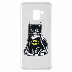 Чохол для Samsung A8+ 2018 Cat Batman