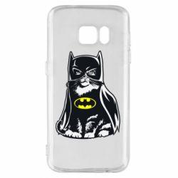 Чохол для Samsung S7 Cat Batman