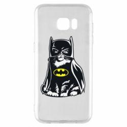 Чохол для Samsung S7 EDGE Cat Batman