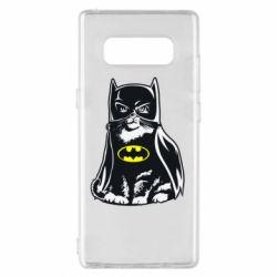 Чохол для Samsung Note 8 Cat Batman