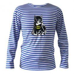 Тельняшка с длинным рукавом Cat Batman - FatLine