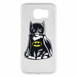 Чохол для Samsung S6 Cat Batman