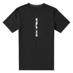 Мужская стрейчевая футболка Cat breeds