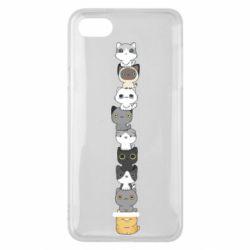 Чехол для Xiaomi Redmi 6A Cat breeds