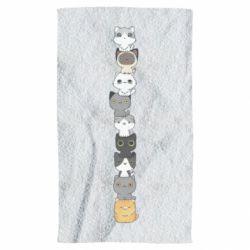 Полотенце Cat breeds