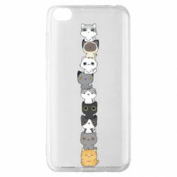 Чехол для Xiaomi Redmi Go Cat breeds