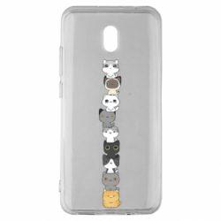 Чехол для Xiaomi Redmi 8A Cat breeds