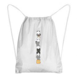 Рюкзак-мешок Cat breeds