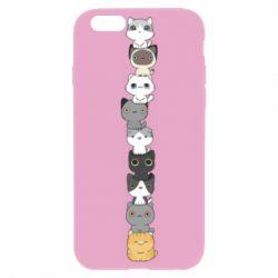 Чехол для iPhone 6 Plus/6S Plus Cat breeds