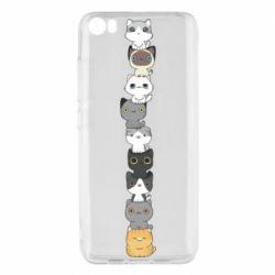 Чехол для Xiaomi Mi5/Mi5 Pro Cat breeds