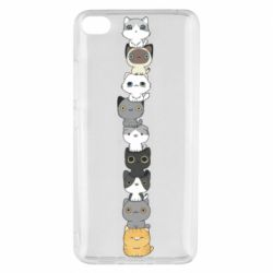 Чехол для Xiaomi Mi 5s Cat breeds