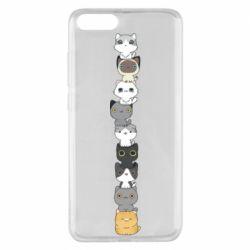 Чехол для Xiaomi Mi Note 3 Cat breeds