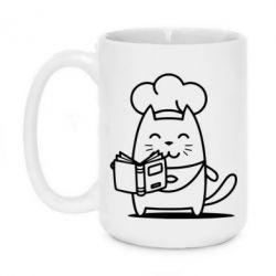 Кружка 420ml Cat cook