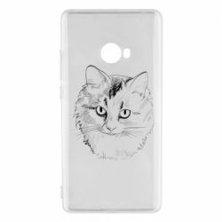 Чехол для Xiaomi Mi Note 2 Cat drawing digital brush