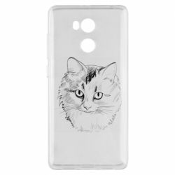 Чехол для Xiaomi Redmi 4 Pro/Prime Cat drawing digital brush