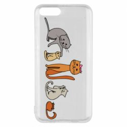 Чехол для Xiaomi Mi6 Cat family