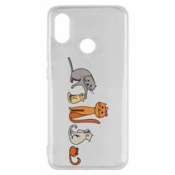 Чехол для Xiaomi Mi8 Cat family