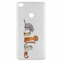 Чехол для Xiaomi Mi Max 2 Cat family