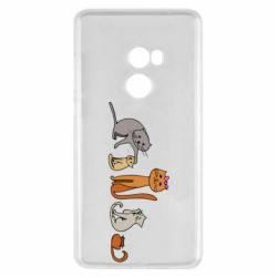 Чехол для Xiaomi Mi Mix 2 Cat family