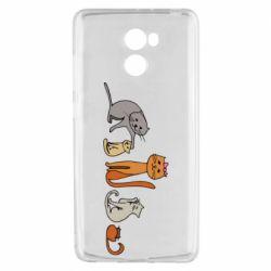 Чехол для Xiaomi Redmi 4 Cat family