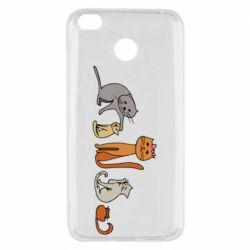 Чехол для Xiaomi Redmi 4x Cat family
