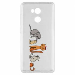 Чехол для Xiaomi Redmi 4 Pro/Prime Cat family