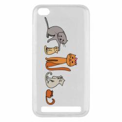 Чехол для Xiaomi Redmi 5A Cat family