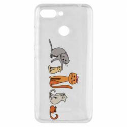 Чехол для Xiaomi Redmi 6 Cat family