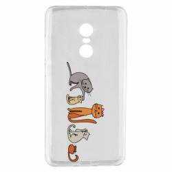 Чехол для Xiaomi Redmi Note 4 Cat family