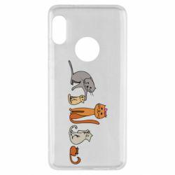 Чехол для Xiaomi Redmi Note 5 Cat family
