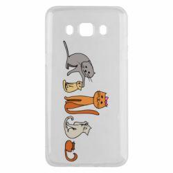 Чехол для Samsung J5 2016 Cat family