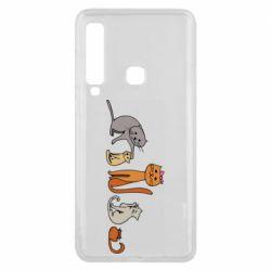 Чехол для Samsung A9 2018 Cat family