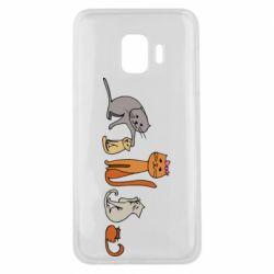 Чехол для Samsung J2 Core Cat family
