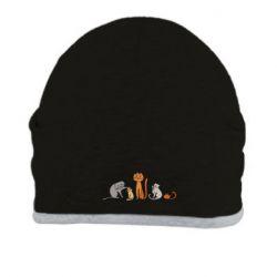 Шапка Cat family