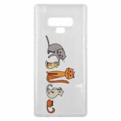 Чехол для Samsung Note 9 Cat family