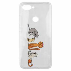 Чехол для Xiaomi Mi8 Lite Cat family