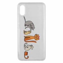Чехол для Xiaomi Mi8 Pro Cat family