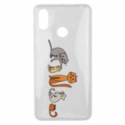Чехол для Xiaomi Mi Max 3 Cat family