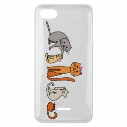 Чехол для Xiaomi Redmi 6A Cat family