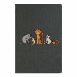 Блокнот А5 Cat family