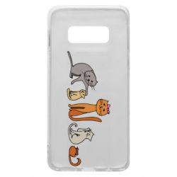 Чехол для Samsung S10e Cat family