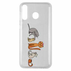 Чехол для Samsung M30 Cat family