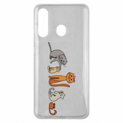 Чехол для Samsung M40 Cat family