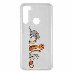 Чехол для Xiaomi Redmi Note 8 Cat family