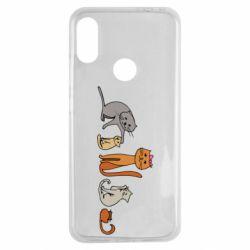 Чехол для Xiaomi Redmi Note 7 Cat family